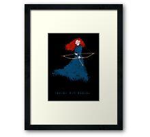 Merida - heroesNOTneeded Framed Print