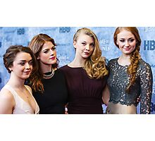 game of thrones girls  Photographic Print