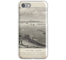 360 New York Harbor as seen from the heights of Staten Island iPhone Case/Skin