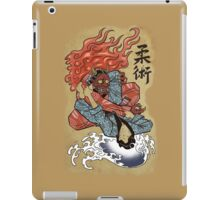 Grappling / BJJ - Demon's triangle iPad Case/Skin