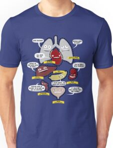 Know Your Organs Unisex T-Shirt
