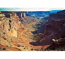 Canyon Country Curves Photographic Print