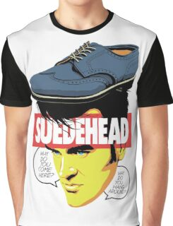 Suede Head Graphic T-Shirt