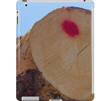 tree trunk iPad Case/Skin