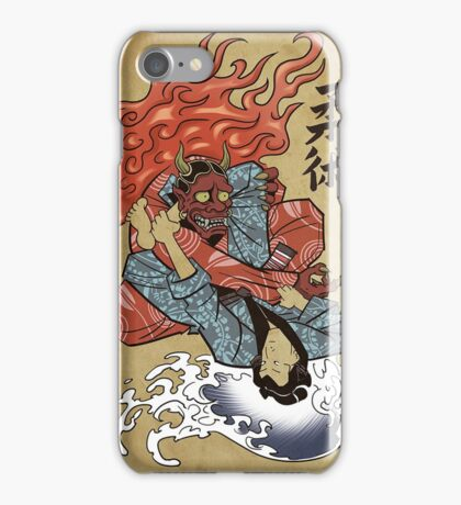 Grappling / BJJ - Demon's triangle iPhone Case/Skin