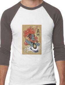 Grappling / BJJ - Demon's triangle Men's Baseball ¾ T-Shirt