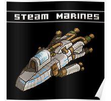 Steam Marines - Transparent Logo Poster
