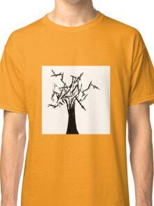 Black Tree - Contrast Classic T-Shirt