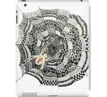 Zentangle Spider Web iPad Case/Skin