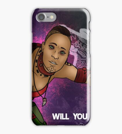 Whose side will you join iPhone Case/Skin