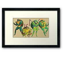 TMNT Classic Framed Print