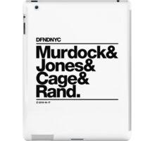 DFNDNYC (Black Edition) iPad Case/Skin
