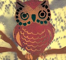 Katherine Dine: Owl Ya Doin'?  by Street  SmART