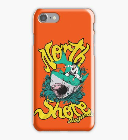 Grappling / BJJ - North Shore Jiu Jitsu iPhone Case/Skin