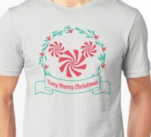 A Merry Christmas Wreath Unisex T-Shirt