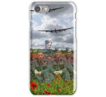 A Tribute To The Dambusters 617 Squadron Crews 1943 iPhone Case/Skin