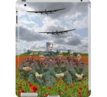 A Tribute To The Dambusters 617 Squadron Crews 1943 iPad Case/Skin