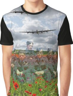A Tribute To The Dambusters 617 Squadron Crews 1943 Graphic T-Shirt