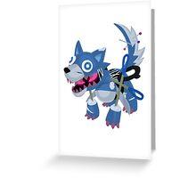 Frightfur Wolf - Yu-Gi-Oh! Greeting Card