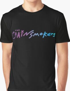 Blue Violet Chainsmokers Graphic T-Shirt