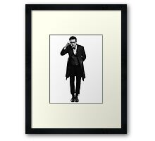 Doctor Who Was It? Framed Print