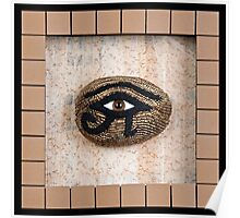 Eye of Horus framed Poster