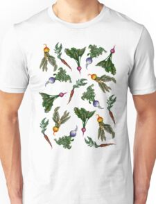 Watercolor Veggies Unisex T-Shirt