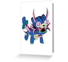 Frightfur Sabre-Tooth - Yu-Gi-Oh! Greeting Card