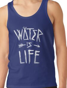 Water Is Life Shirt Tank Top