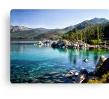 Lake Tahoe Harbor Canvas Print