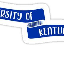 University of Kentucky - Style 8 Sticker