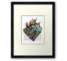 Belladonna Jackalope Framed Print