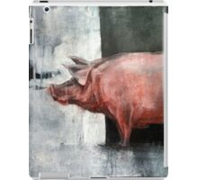 I'm Pink, Therefore I'm Ham iPad Case/Skin