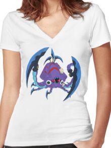 Frightfur Kraken - Yu-Gi-Oh! Women's Fitted V-Neck T-Shirt