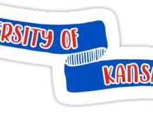 University of Kansas - Style 8 Sticker