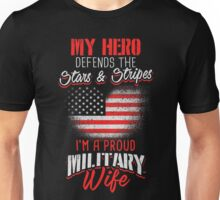 Proud Military Wife Unisex T-Shirt