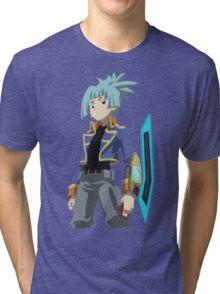Sora - Yu-Gi-Oh! Tri-blend T-Shirt