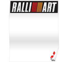 Mitsubishi RalliArt Poster