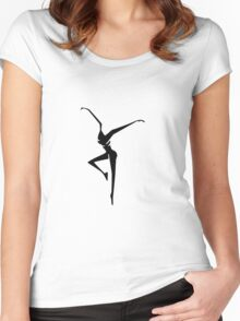 DMB black Women's Fitted Scoop T-Shirt