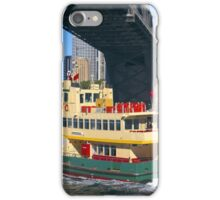 Sydney Ferry and Harbor Bridge iPhone Case/Skin