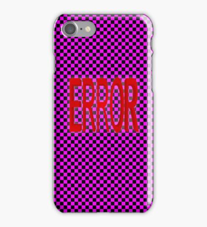 ERROR - MISSING TEXTURE iPhone Case/Skin