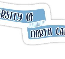 UNC Chapel Hill - Style 8 Sticker