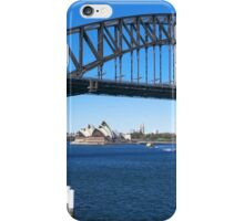 Sydney Harbor Bridge and Opera House iPhone Case/Skin