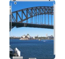 Sydney Harbor Bridge and Opera House iPad Case/Skin
