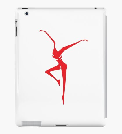 Red DMB  iPad Case/Skin