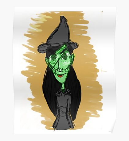 Elphaba - Wicked Poster