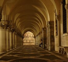 Arches - Venice, Italy by GeorgeBuxbaum