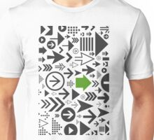 Background of arrows Unisex T-Shirt