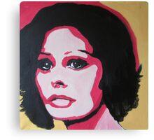 The sad woman Canvas Print