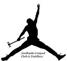 Croquet Jump Man (Southside Croquet Club & Distillery Photographic Print